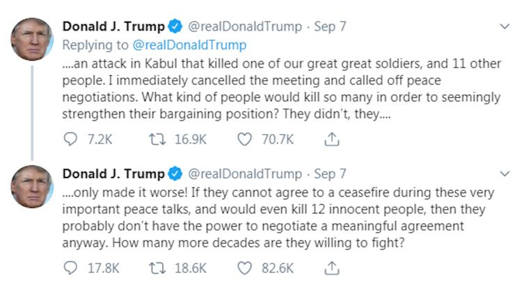 Trump tweets 2 taliban 090919 credit bfbs via twitter.jpg