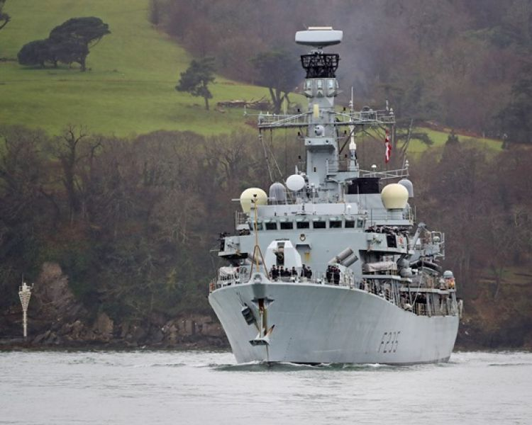 Type 23 Frigate HMS Monmouth