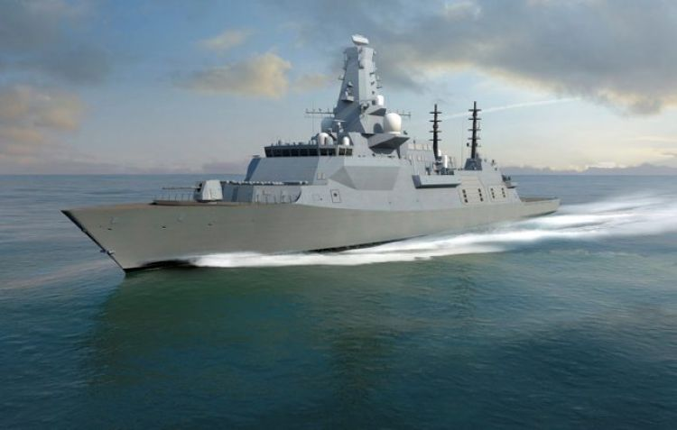 Animation of the Type 26 frigate (Picture: MOD).