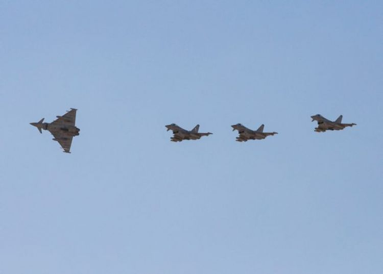 British typhoons arrive in Oman (Credit: Crown Copyright)