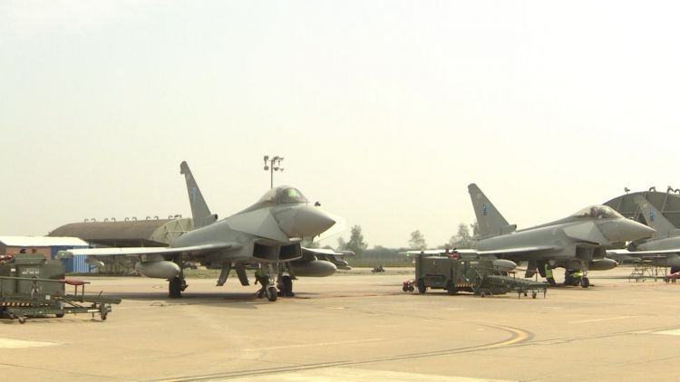 Typhoons on the ground for Estonia.