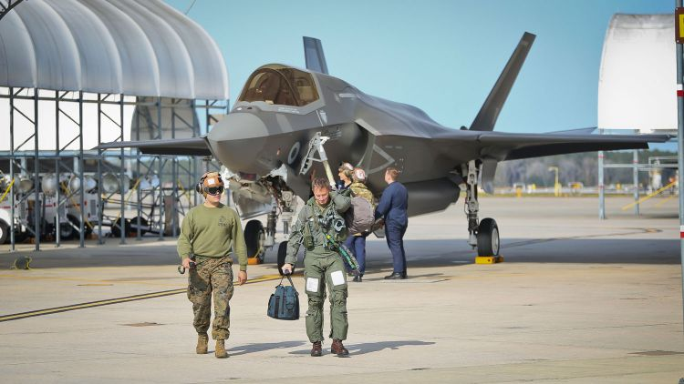 UK receives 14th F-35