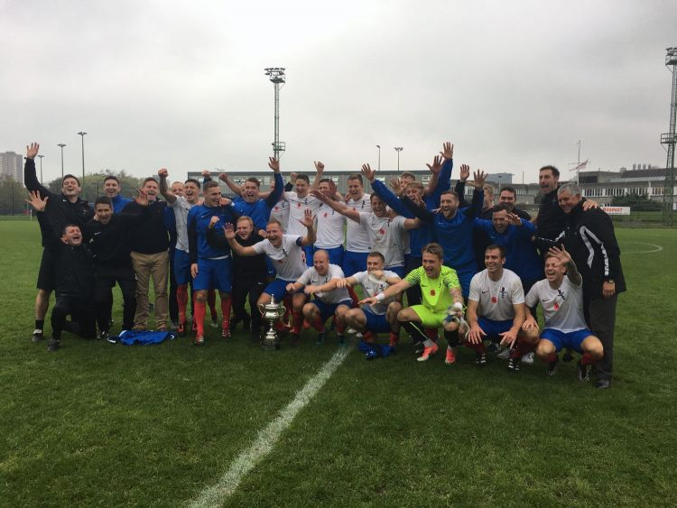 UKAF Kentish Cup win v Netherlands 2017
