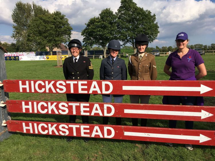 UK Armed Forces show jumping team Hickstead