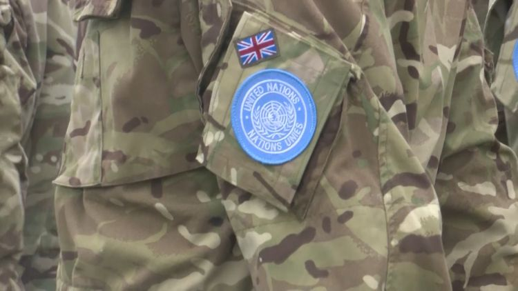 UN nations badge on UK Army uniform USED ON 290520 CREDIT BFBS.jpg
