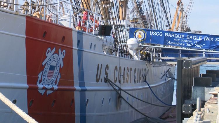 US Coast Guard use the Eagle to train cadets 304019 CREDIT BFBS.jpg