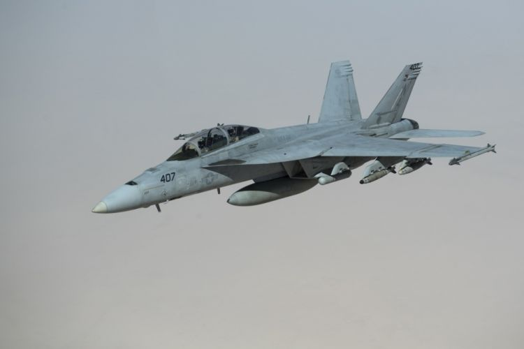 U.S. Navy F/A-18F Super Hornet
