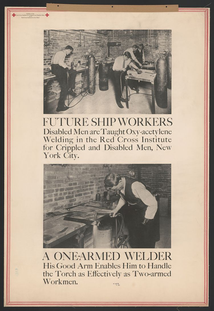 US world war 1 disabled veterans occupational rehabilition