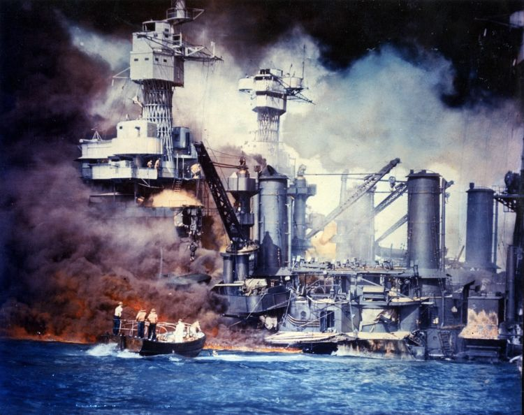 fires pearl harbor