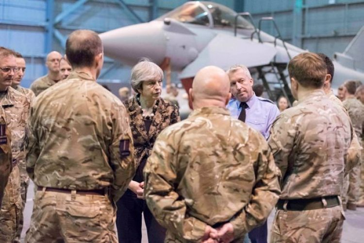 United Kingdom Prime Minister Therese May visits Cyprus and Royal Air Force Akrotiri CREDIT MOD.jpg