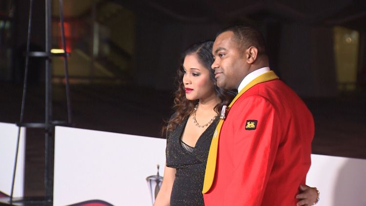 Johnson Beharry VC At The Millies