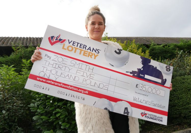 Veterans Lottery winner