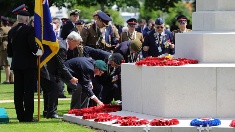 Commemoration events were held in Normandy and the UK to mark 75 years since D-Day last week (Picture: MOD).