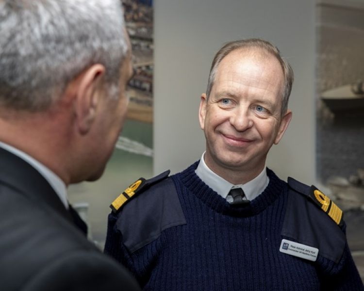 Vice Admiral Jerry Kyd is among the changes (Picture: Royal Navy).