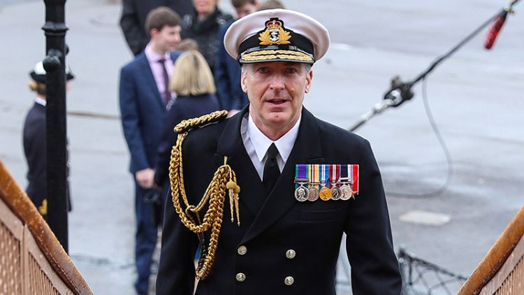 Vice Admiral Tony Radakin CREDIT Royal Navy