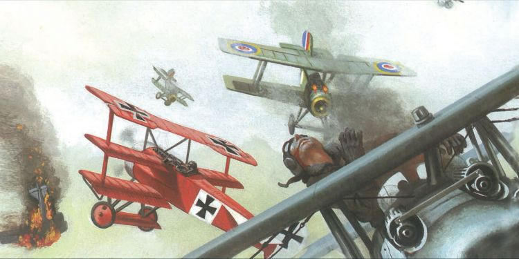 World War 1 aerial combat