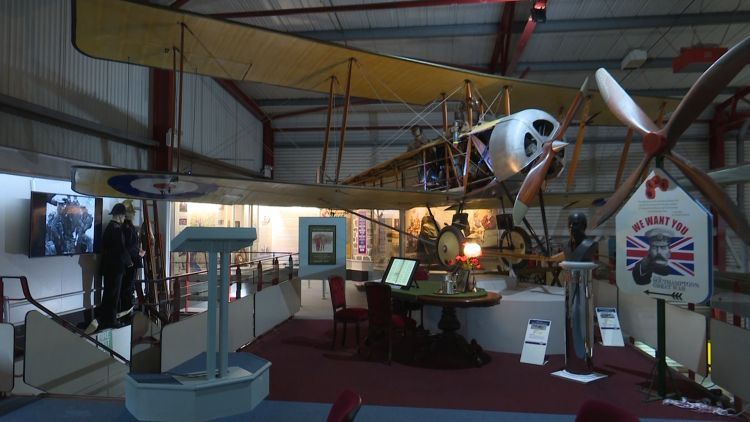 WWI Flying Museum southampton 251119 CREDIT BFBS.jpg