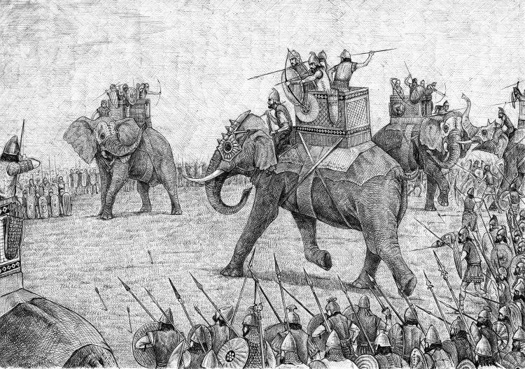 War Elephant Illustration Army of Carthage                       Credit Shutterstock Sammy33