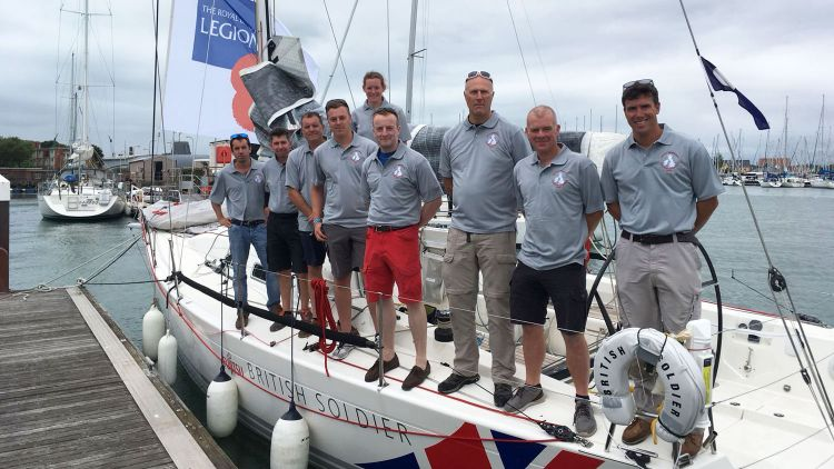 Sevenstar Round Britain and Ireland Race British Soldier Yacht Major Will Naylor Credit Royal Ocean Racing Club