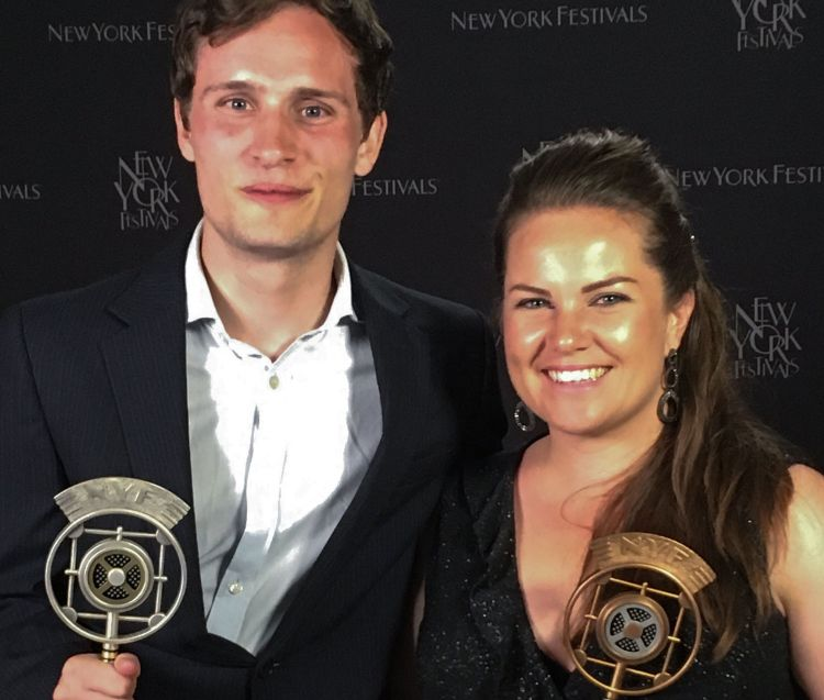 Will Warren & Poppy Pawsey Forces Network New York awards