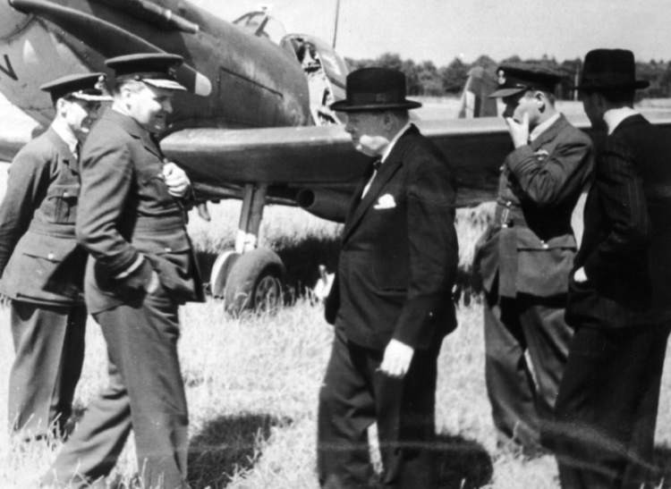 Winston Churchill at Biggin Hill 300119 CREDIT Biggin Hill Memorial Museum.png