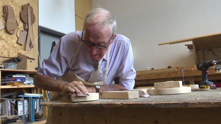 Woodwork class for blind veterans in scotland 070819 CREDIT BFBS.jpg
