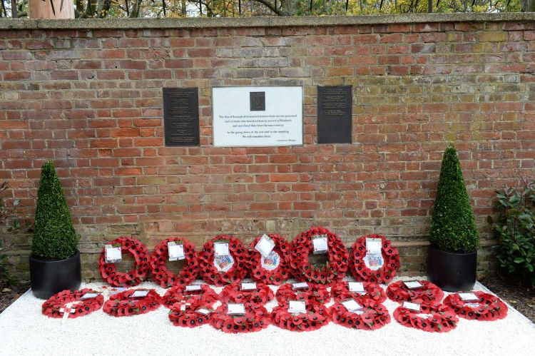 Eleven local heroes were remembered at the poignant service