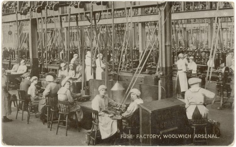 Munitions factory