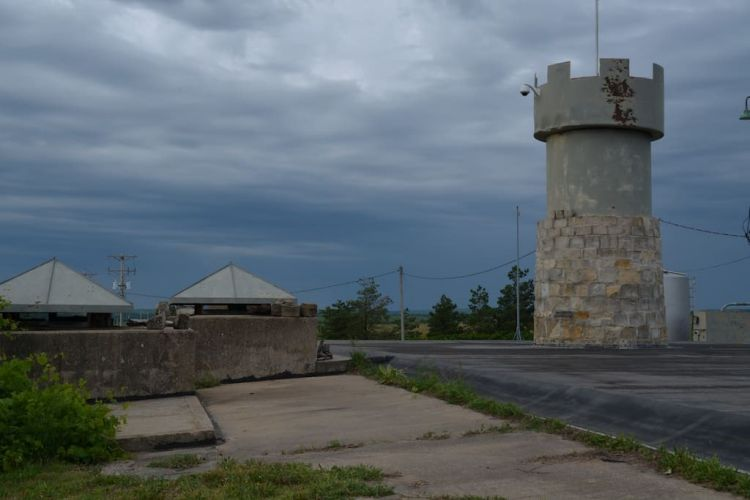 Grounds of refurbished US missile silo for rent