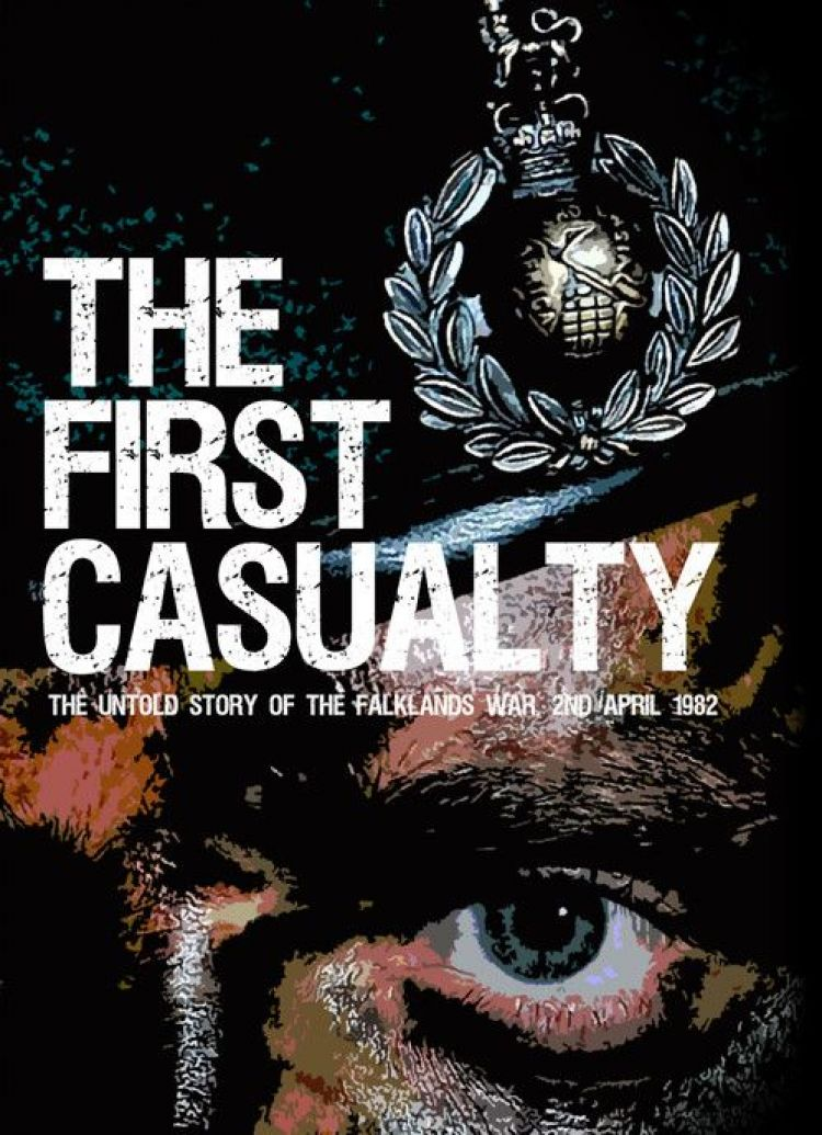 The first casualty book cover