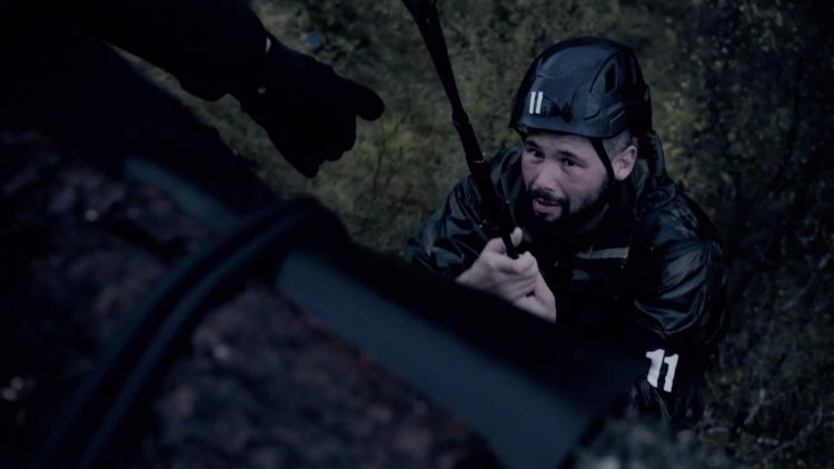 Celebrity SAS Who Dares Wins Episode 4 Tony Bellew  Fear Of Heights Credit Channel 4