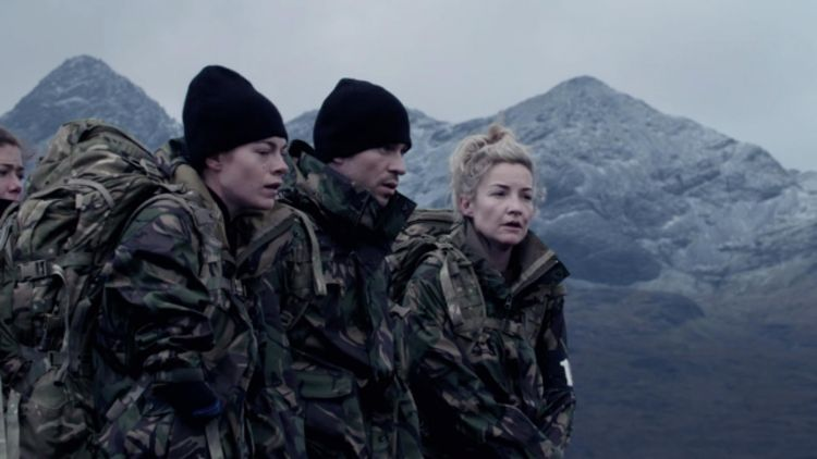 Celebrity SAS Who Dares Wins Episode 5 Lauren Steadman Joey Essex Helen Skelton Credit Channel 4