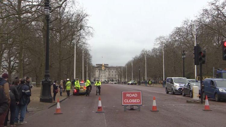 Road Closures At Changing Of The Guard