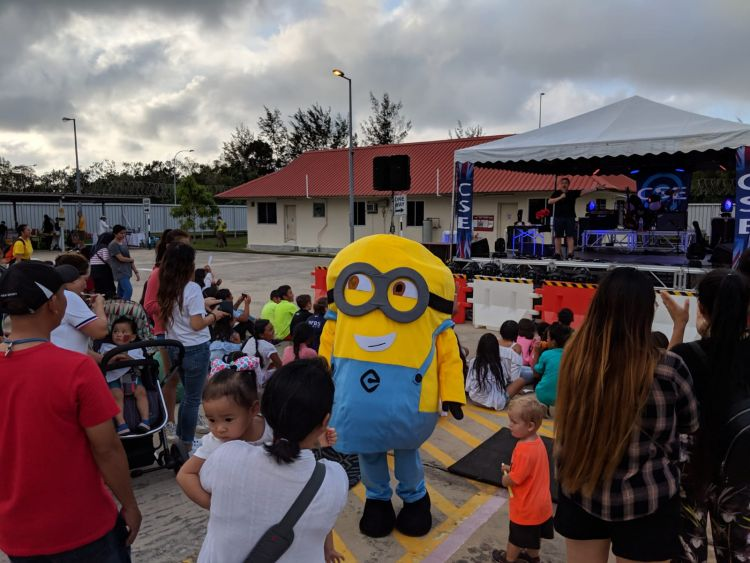 CSE Beneficiary Shows in Brunei Minion