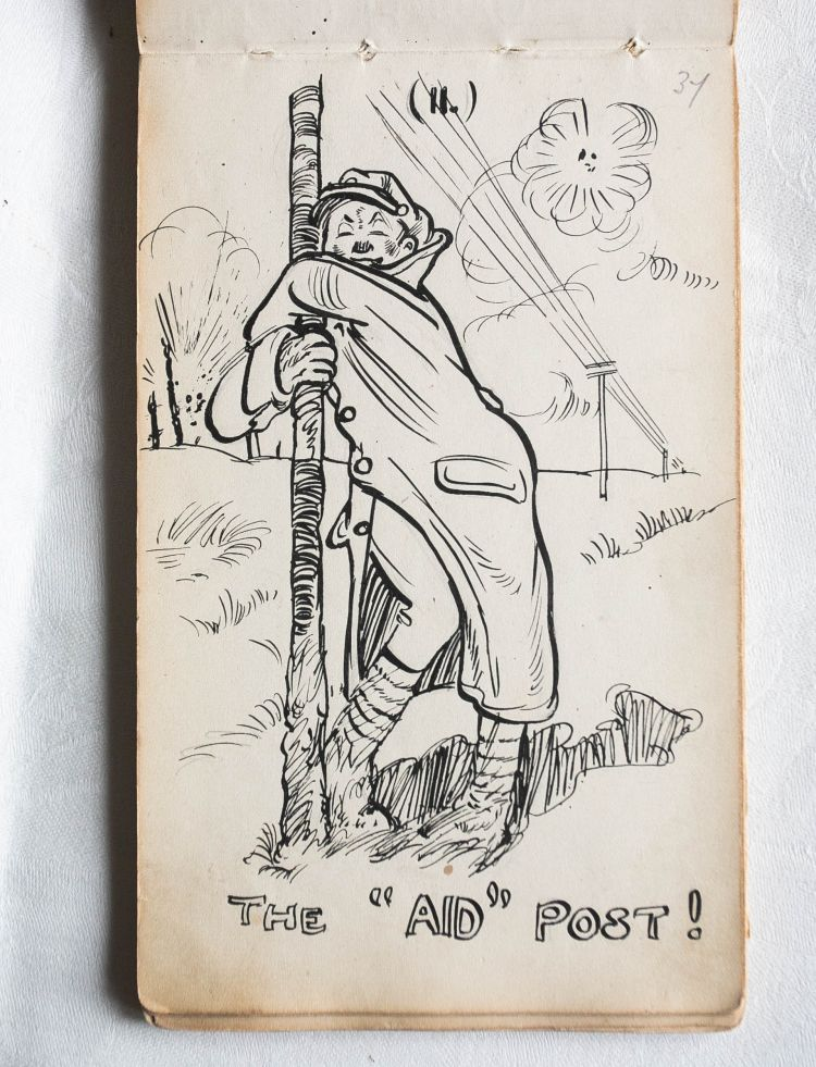 Satirical Drawings By Wwi Soldiers Show Unexpected Side Of War