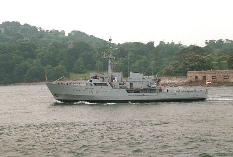 HMS Beagle was a Royal Navy survey ship until 2002