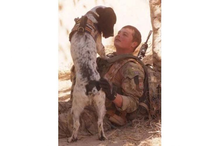 LCpl Liam Tasker Theo Royal Army Veterinary