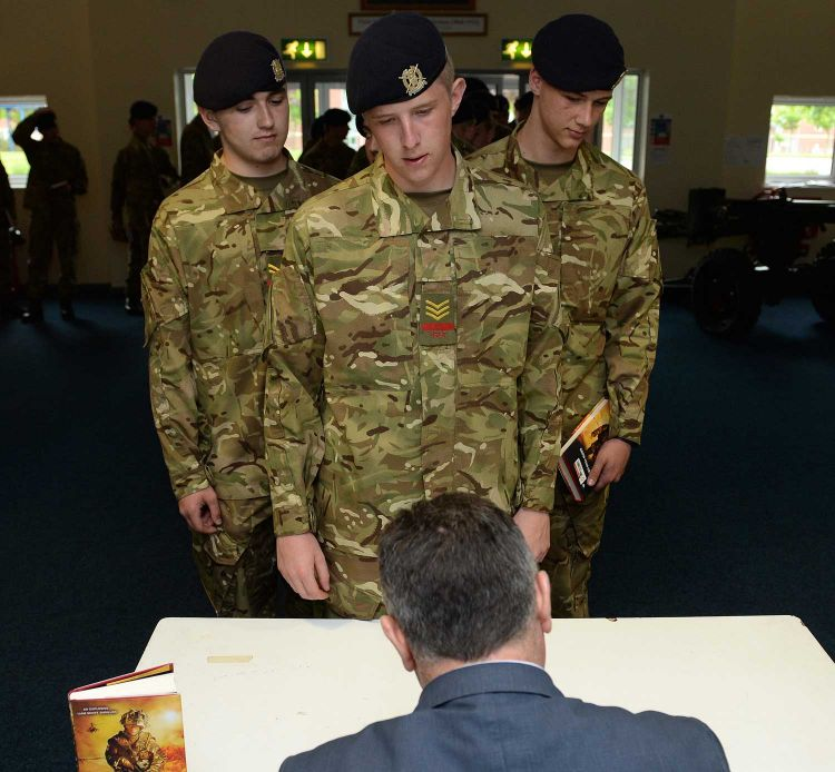 Andy McNab Meets Young Soldiers