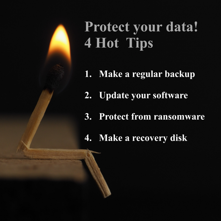 Easy steps to protect your data