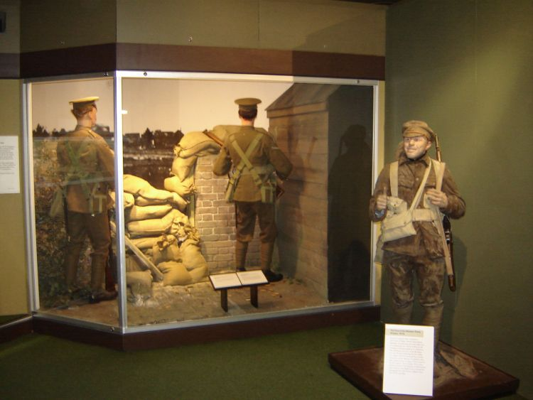 A display depicting Mons at the Army Museum (image: Robert Fleming)