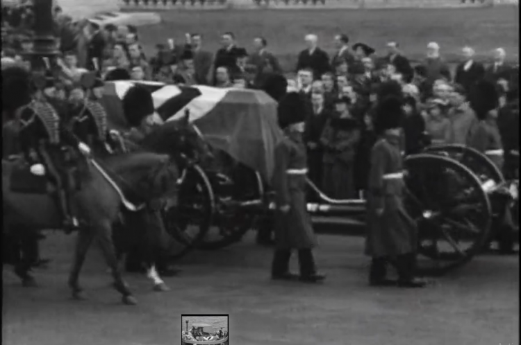 Funeral procession of diplomat Leopold von Hoesch