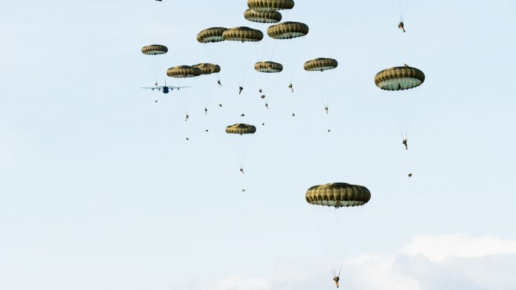 paratroopers in the air over estonia 051119 CREDIT BRITISH ARMY.jpg