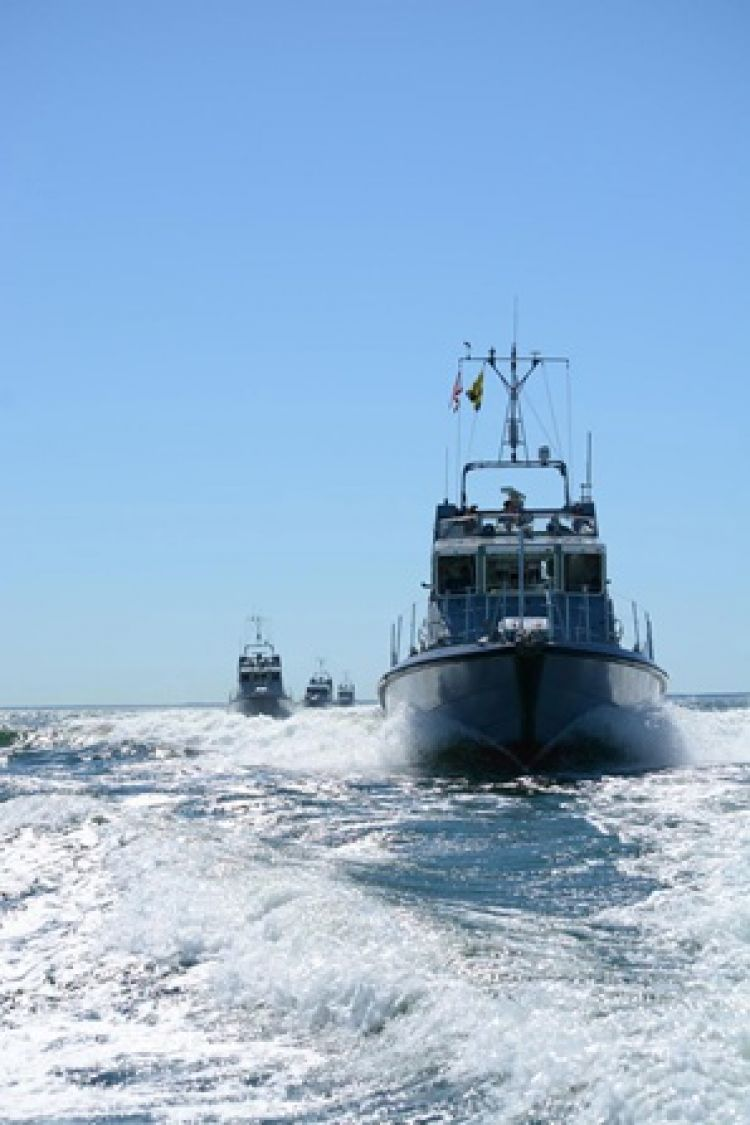Royal Navy Patrol Boats Deployed To Baltic Sea For Summer