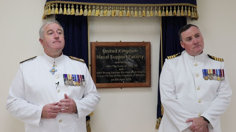Royal Navy facility opens in Bahrain