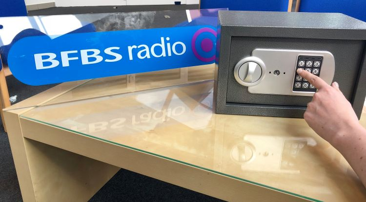 Safe in the Unlocked competition in Germany BFBS