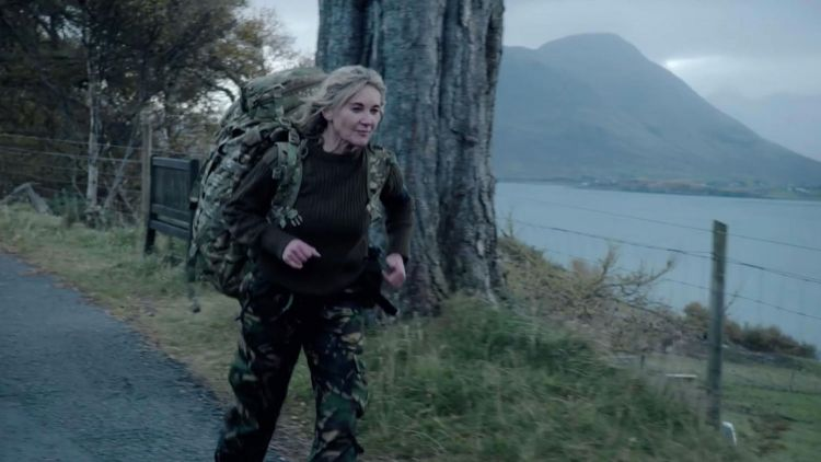 Celebrity SAS Who Dares Wins Episode 2 Anthea Turner Credit Channel 4