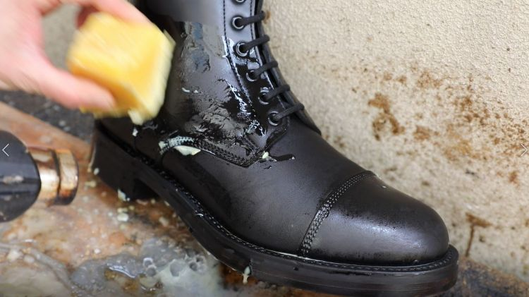 how to make good black shoe polish