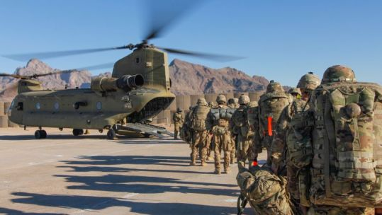 Cover image: File image of US troops in Afghanistan (Picture: US Department of Defense).