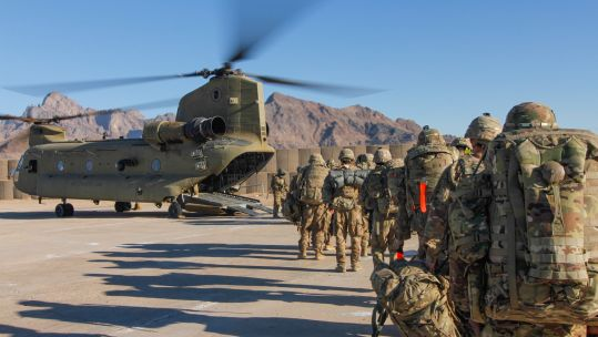 Cover image: Library image of US troops in Afghanistan (Picture: US Department of Defense).