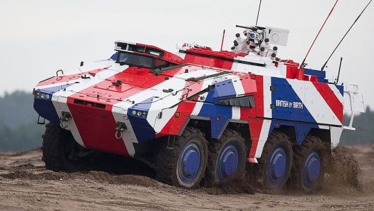The Boxer, a multi-role Armoured Fighting Vehicle. Credit: Rheinmetall Defence